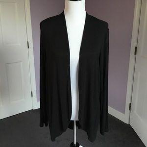 J.Jill Wearever Open Front Long-sleeve Sweater XS
